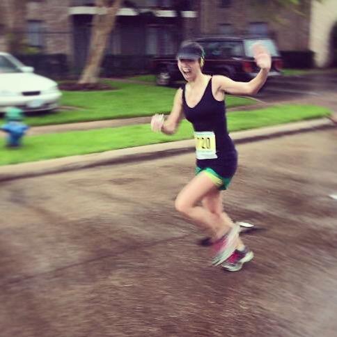 My first 10K (circa mile 6)!