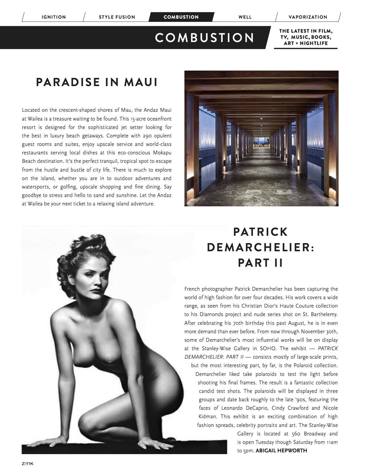 ZINK Magazine October 2013 issue
