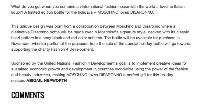 ZINK Magazine Website, published October 28, 2013
