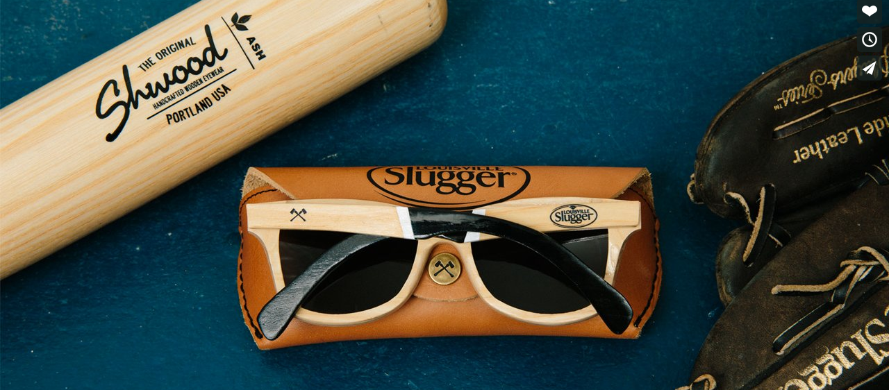 A sample of the company's special Slugger Series. Image taken from Shwood.com