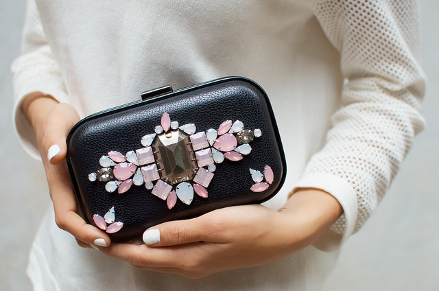 Jeweled Clutch