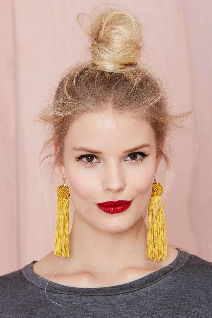 Vanessa Mooney Astrid Tassel Earrings