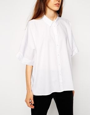 ASOS Boxy Button Down
