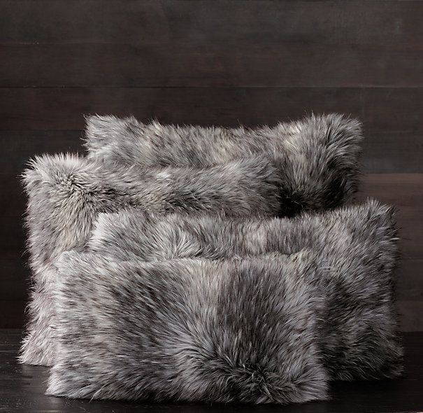 restoration hardware faux fur pillow.jpg