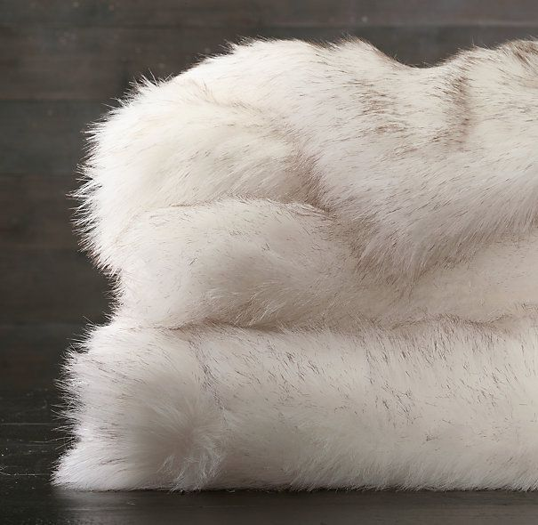 restoration hardware faux fur throw.jpg