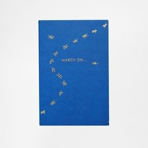 March On Sloane Stationary Journal
