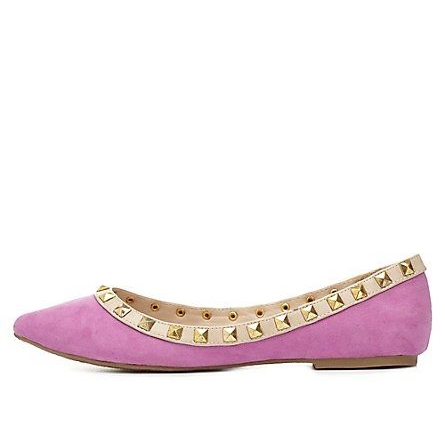 Charlotte Russe Pointed Toe Flat