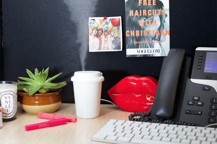 the perfect little desktop humidifier. image via  Vogue.com