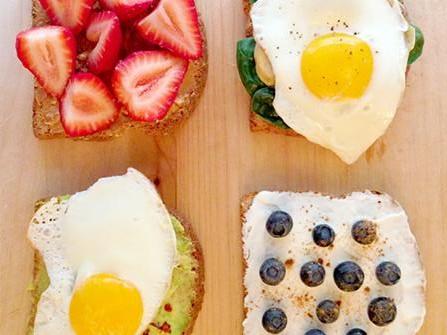 Four breakfast ideas from Lauren Conrad.