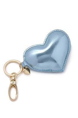 Metallic Heart keychain // Forever21