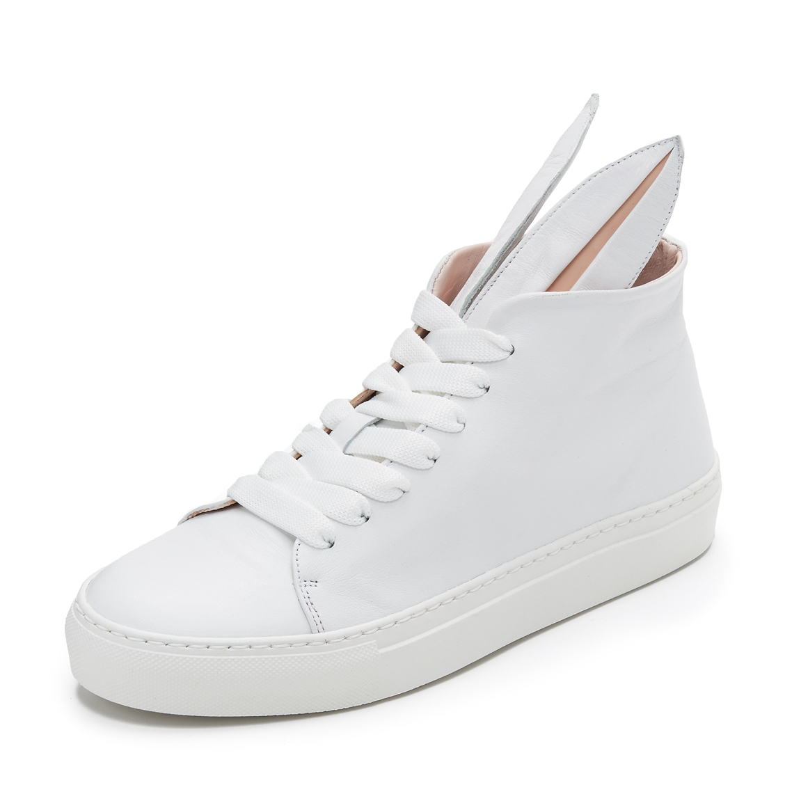 Leather sneakers $289