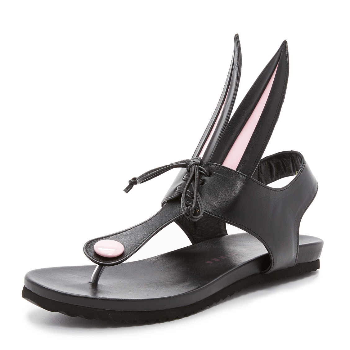 Leather sandals $291