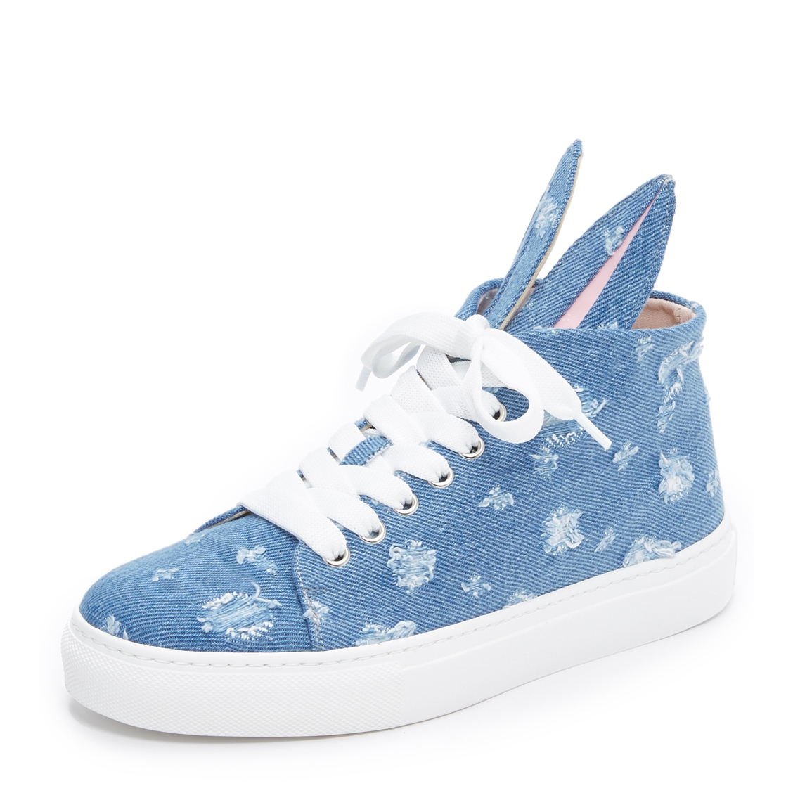 Denim hightops $258