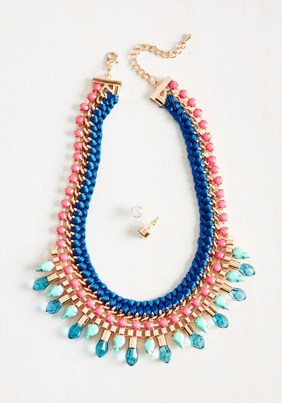 30 Under $30 // Lady Gray // Modcloth necklace and earrings set