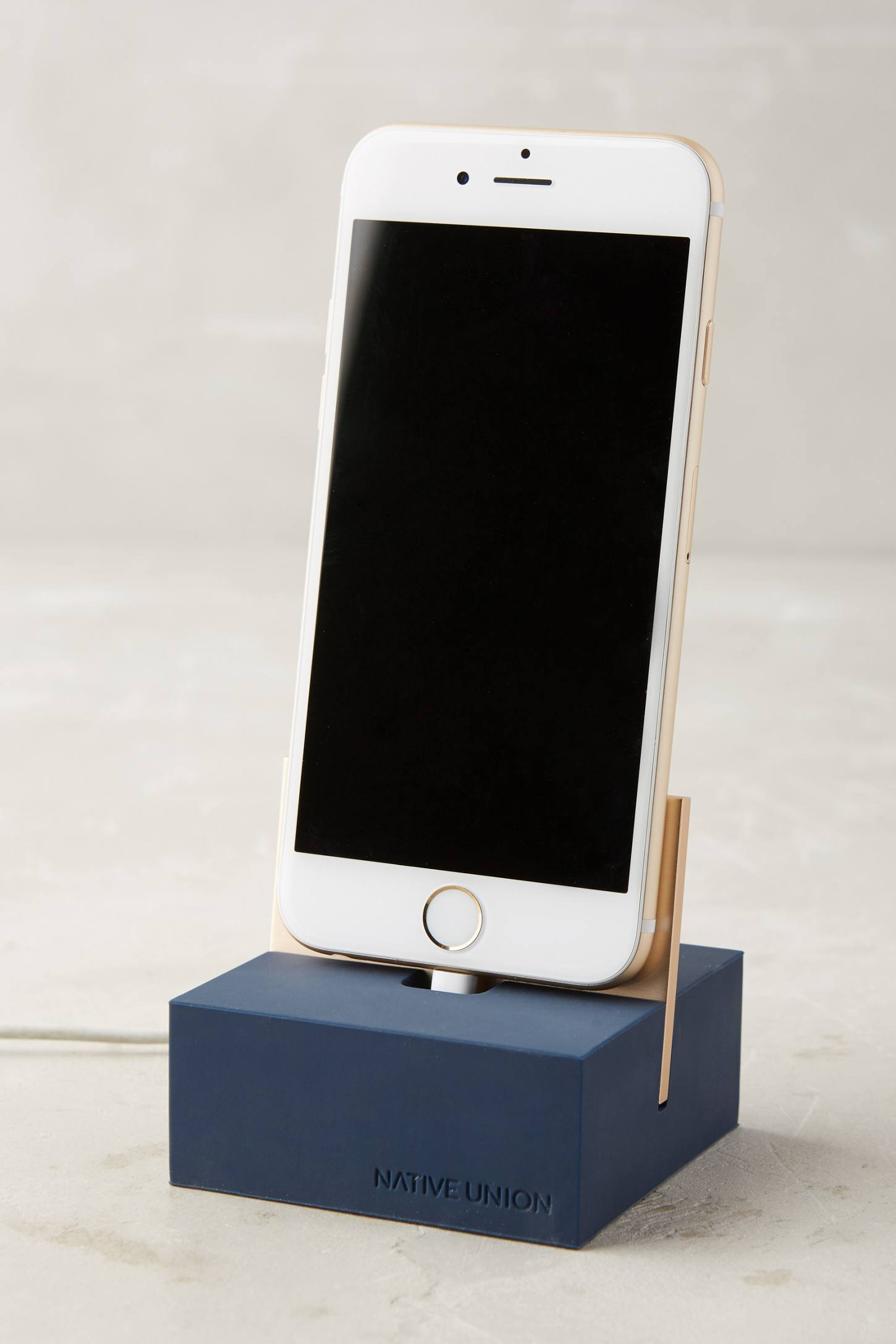 Native Union Phone Dock, $50