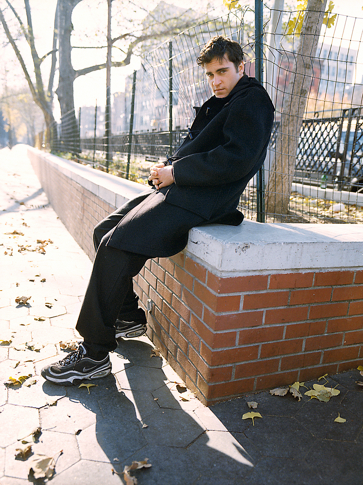 Joaquin Phoenix by Patrik Andersson on the Lower East Side of New York City