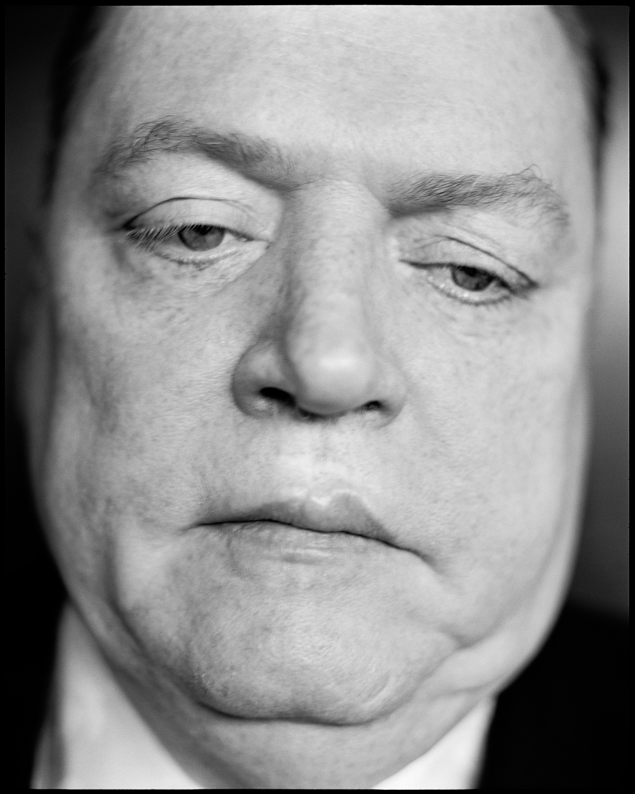Larry Flynt the publisher of Hustler Magazine     photographed by Patrik Andersson   in Los Angeles California