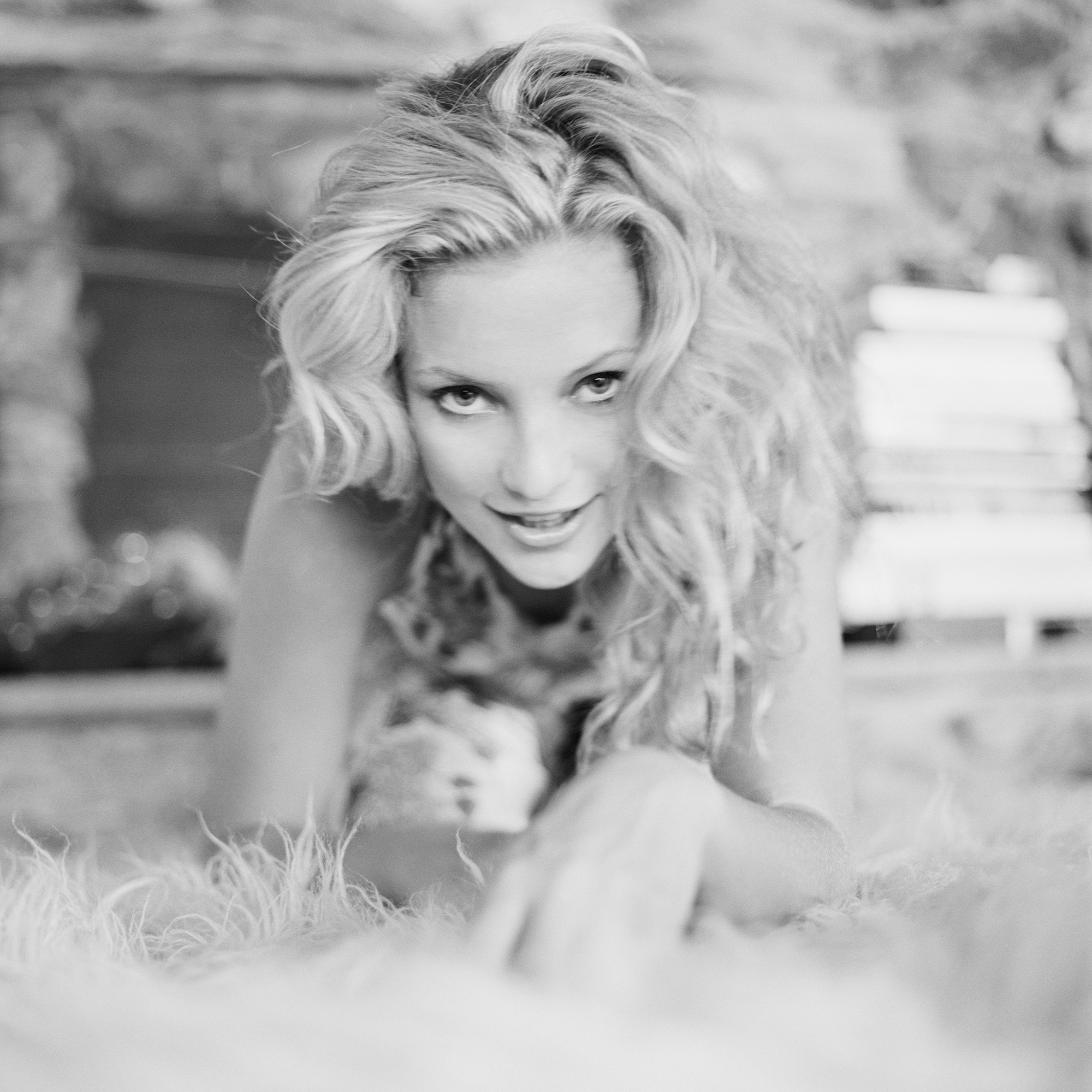 """""""Be like a tiger kitten Kate"""" Kate Hudson photographed by Patrik Andersson in Silverlake Los Angeles"""