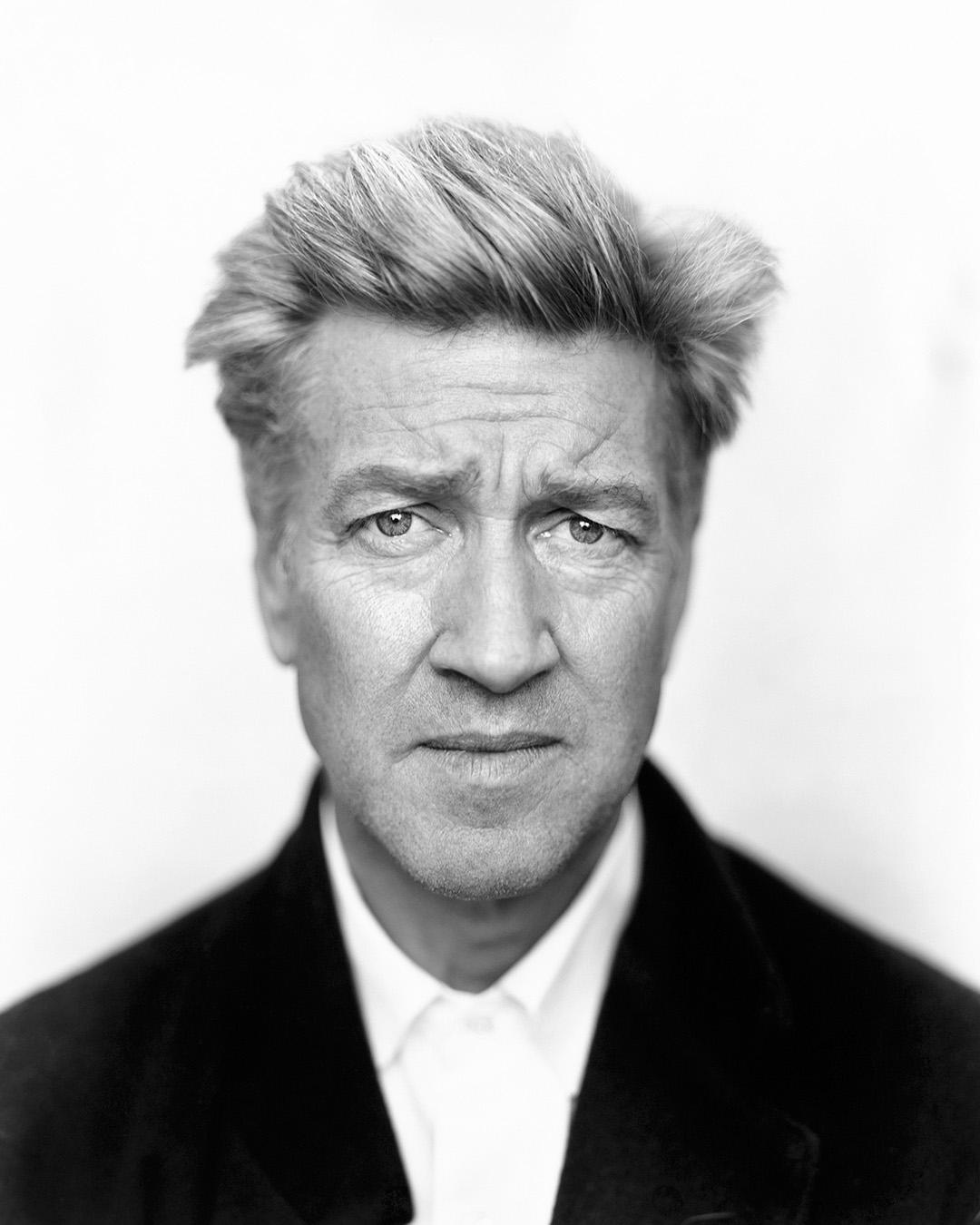 Director David Lynch by celebrity photographer Patrik Andersson