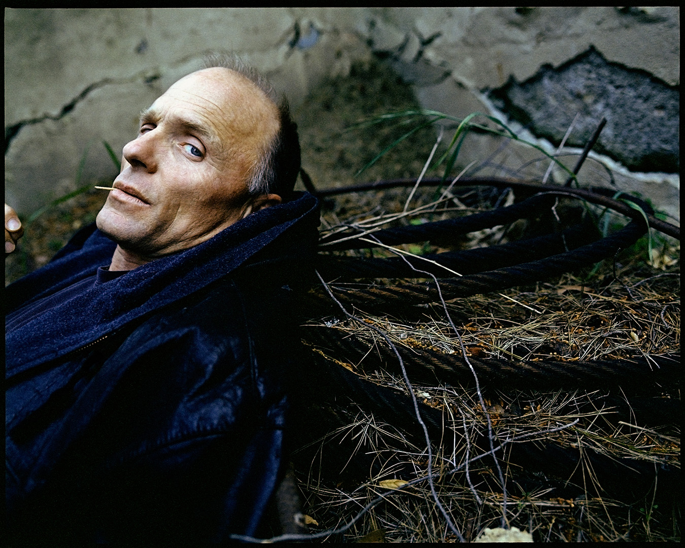 Ed Harris photographed by Patrik Andersson in an Homage to the movie Stalker by Andrei Tarkovsky