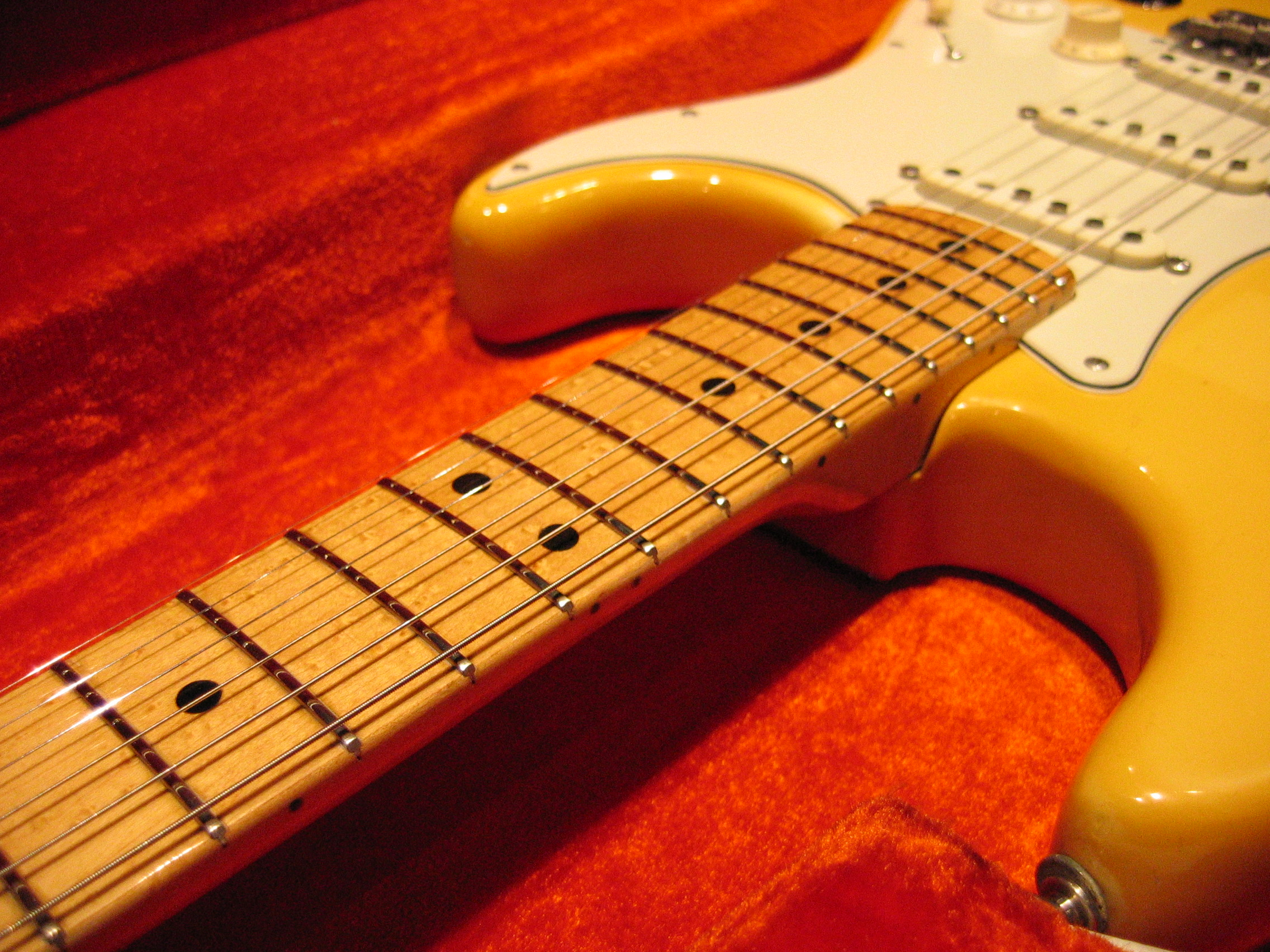 Every guitar, even new, needs to be properly set up to accommodate your playing style and choice of string gauge. Most guitars also react to change of seasons or climate, and need periodical readjustment. A proper set up can change a feel of a guitar and is recommended for every player.
