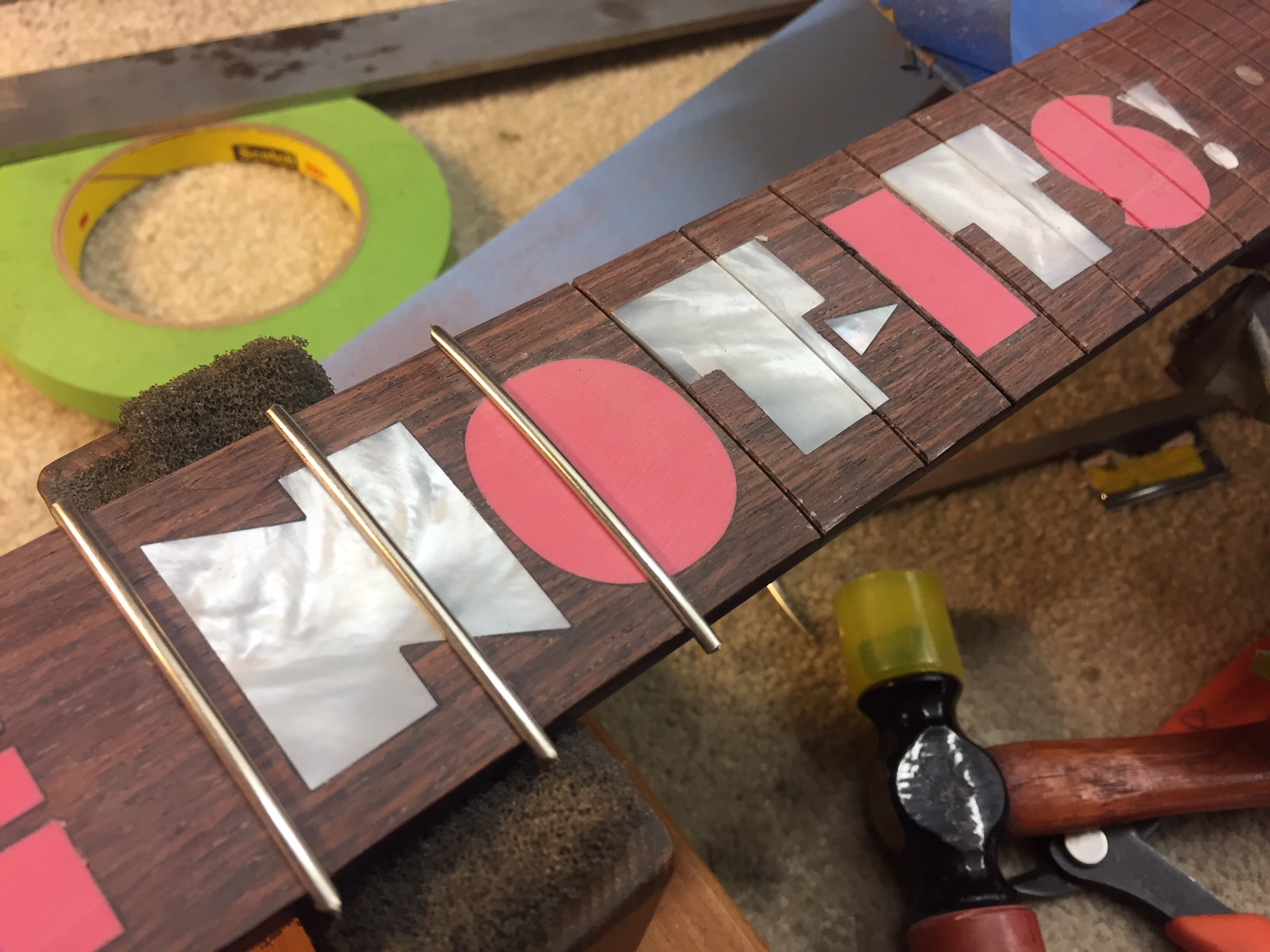 Inlay and Refret