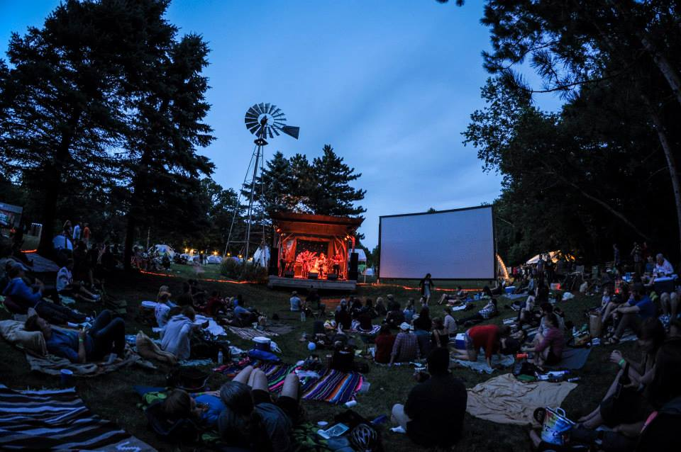 Local film makers and bands play on a farm at Square Lake. We love it we have gone there for years.
