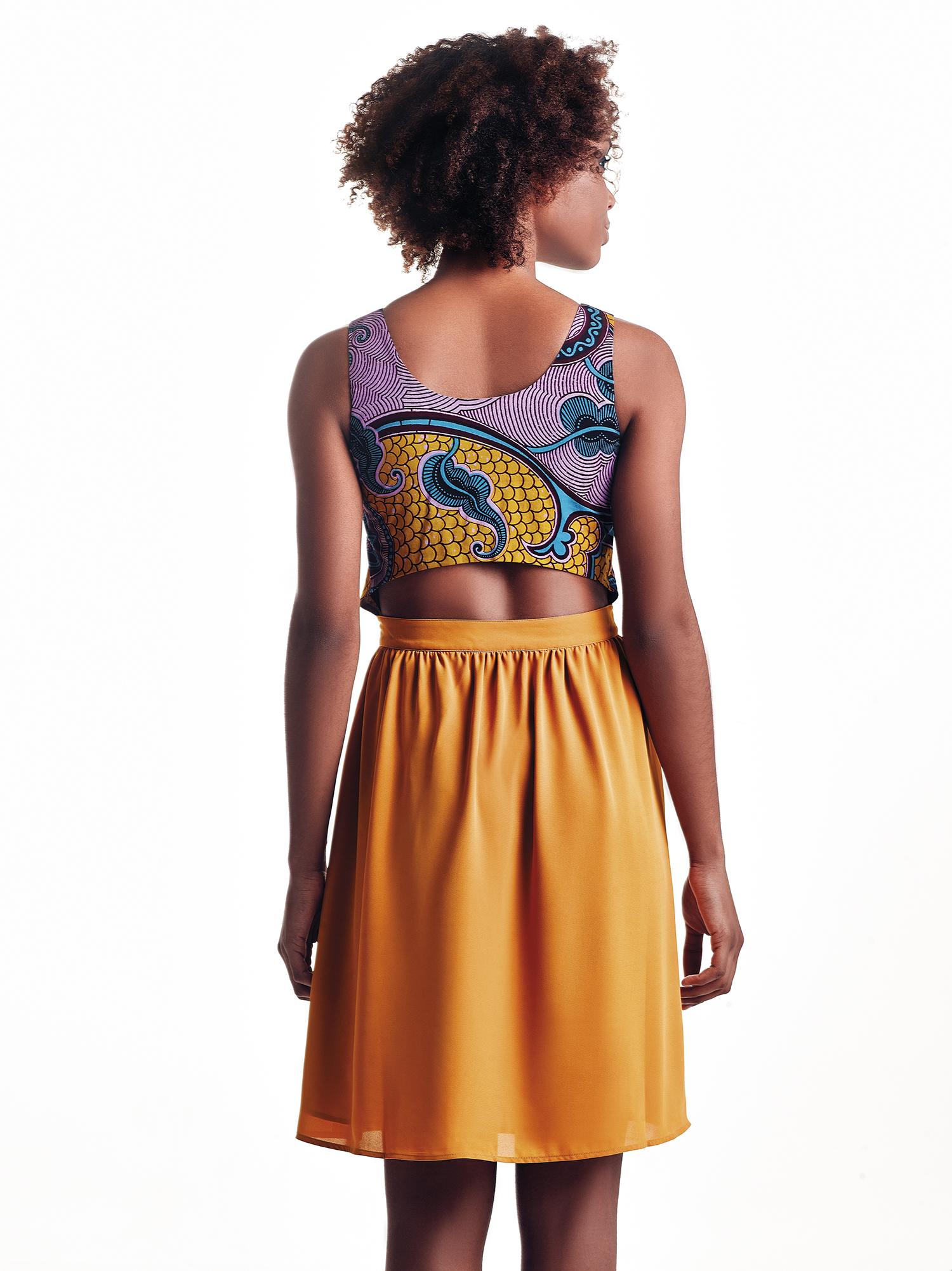 Vestido Maiombe Mini