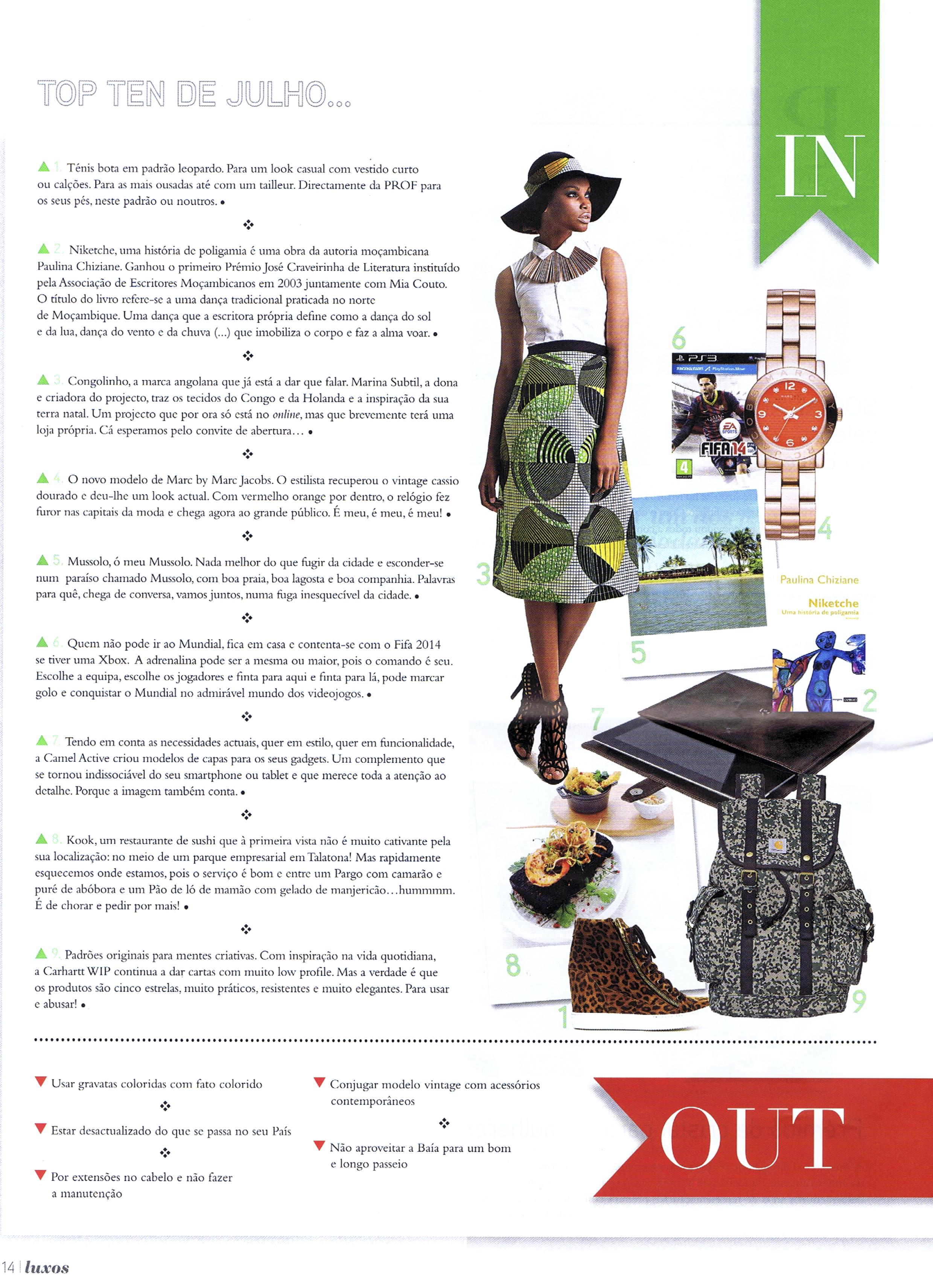 Revista Luxos, Julho 2014