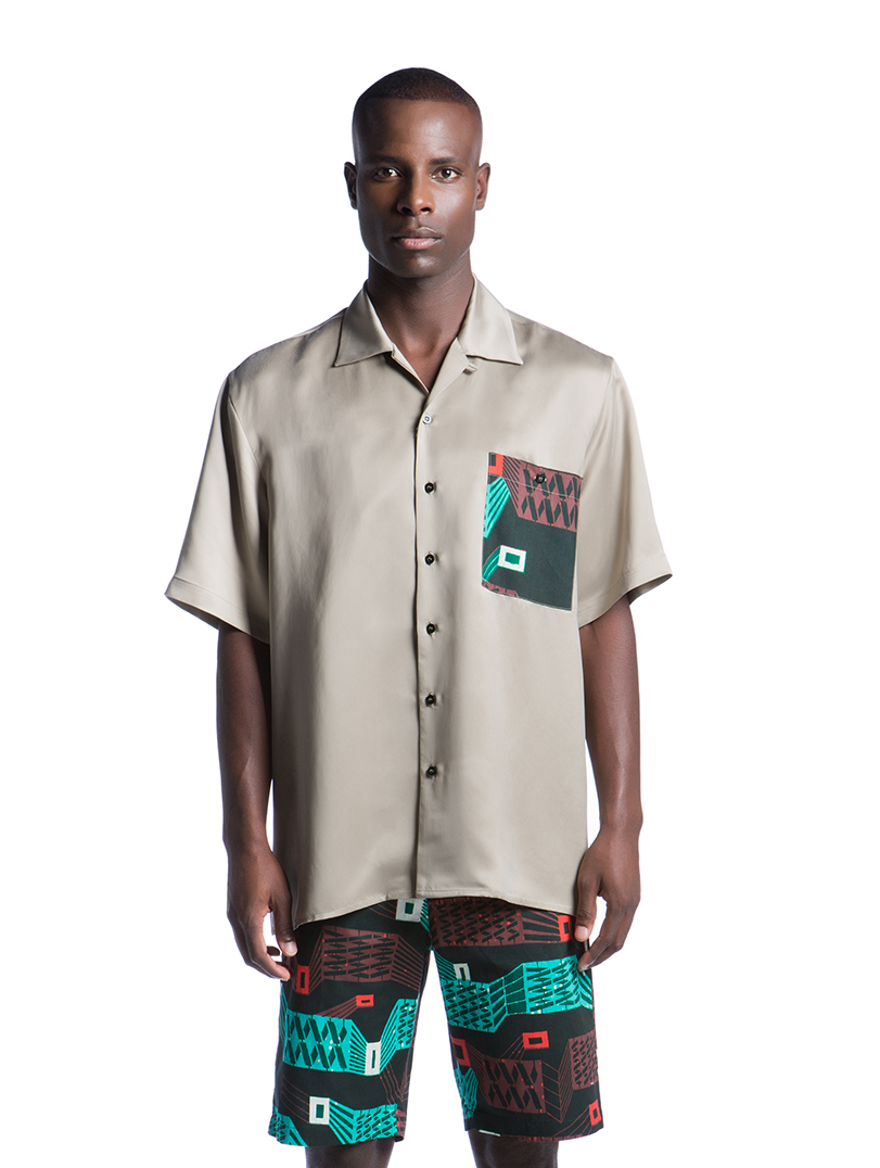 Camisa Caju Caqui  SALDO