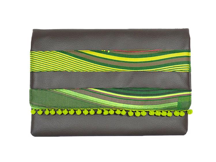 Clutch Chibia Verde