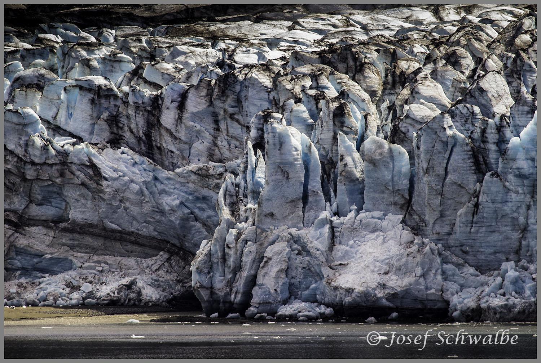 Face of Johns Hopkins Glacier