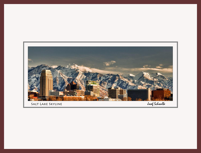 Salt Lake Skyline