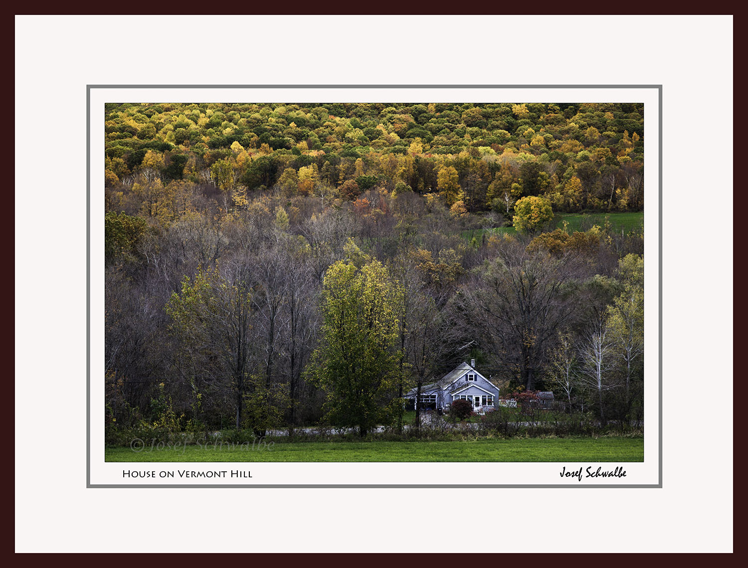 House on Vermont Hill