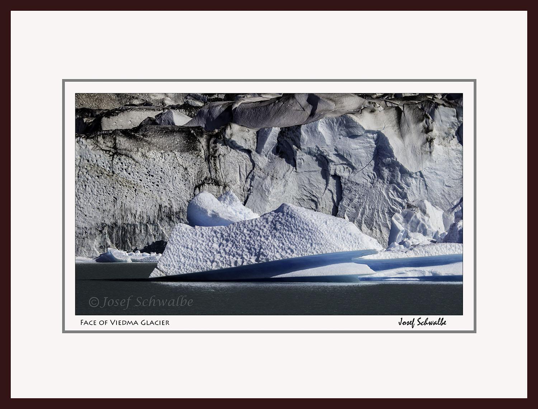 Face of Viedma Glacier