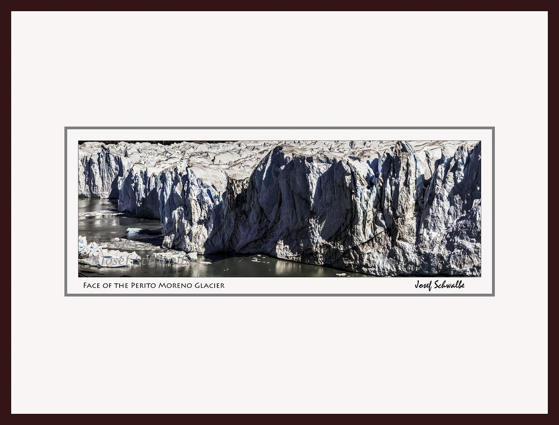 Face of the Perito Moreno Glacier