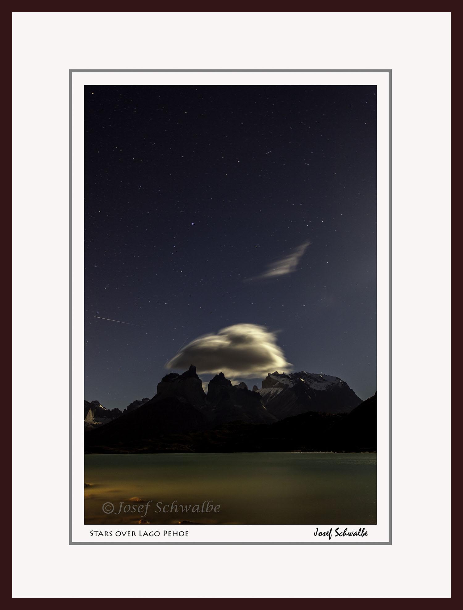 Stars over Lago Pehoe