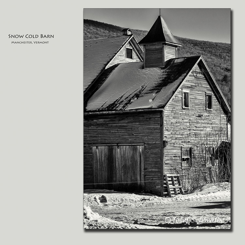 Snow Cold Barn