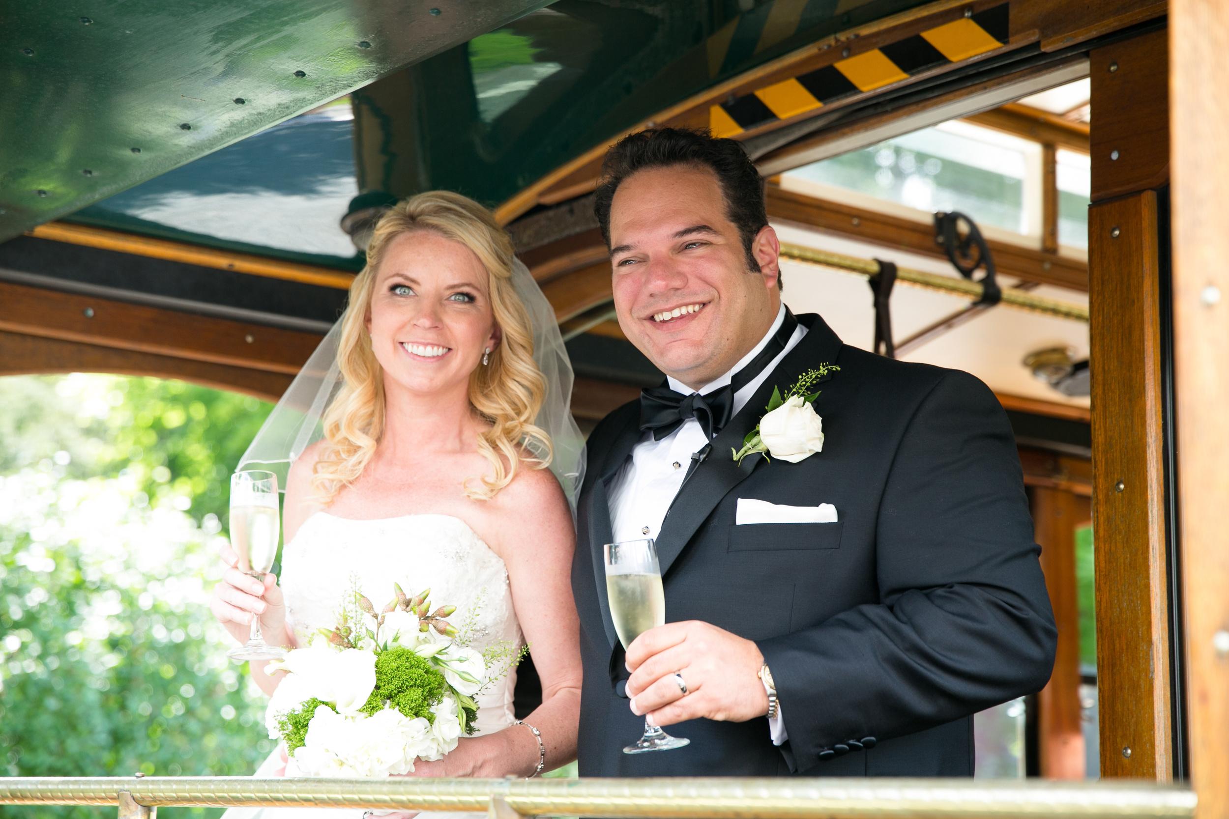 Michelle Barnett and Peter DiBona wedding on September 13, 2014. Photo by Paul Morse