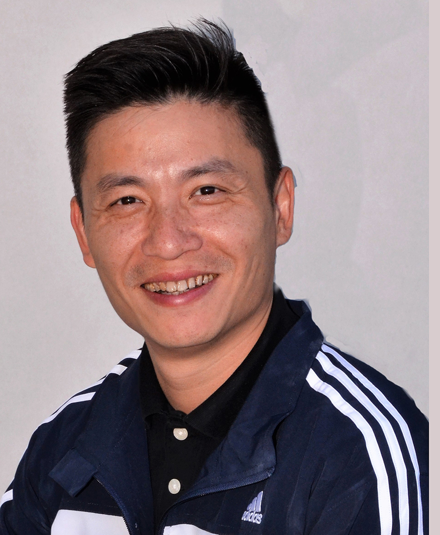 "Jian ""James"" Zhong  (Compulsory & Optional Team Coach)"