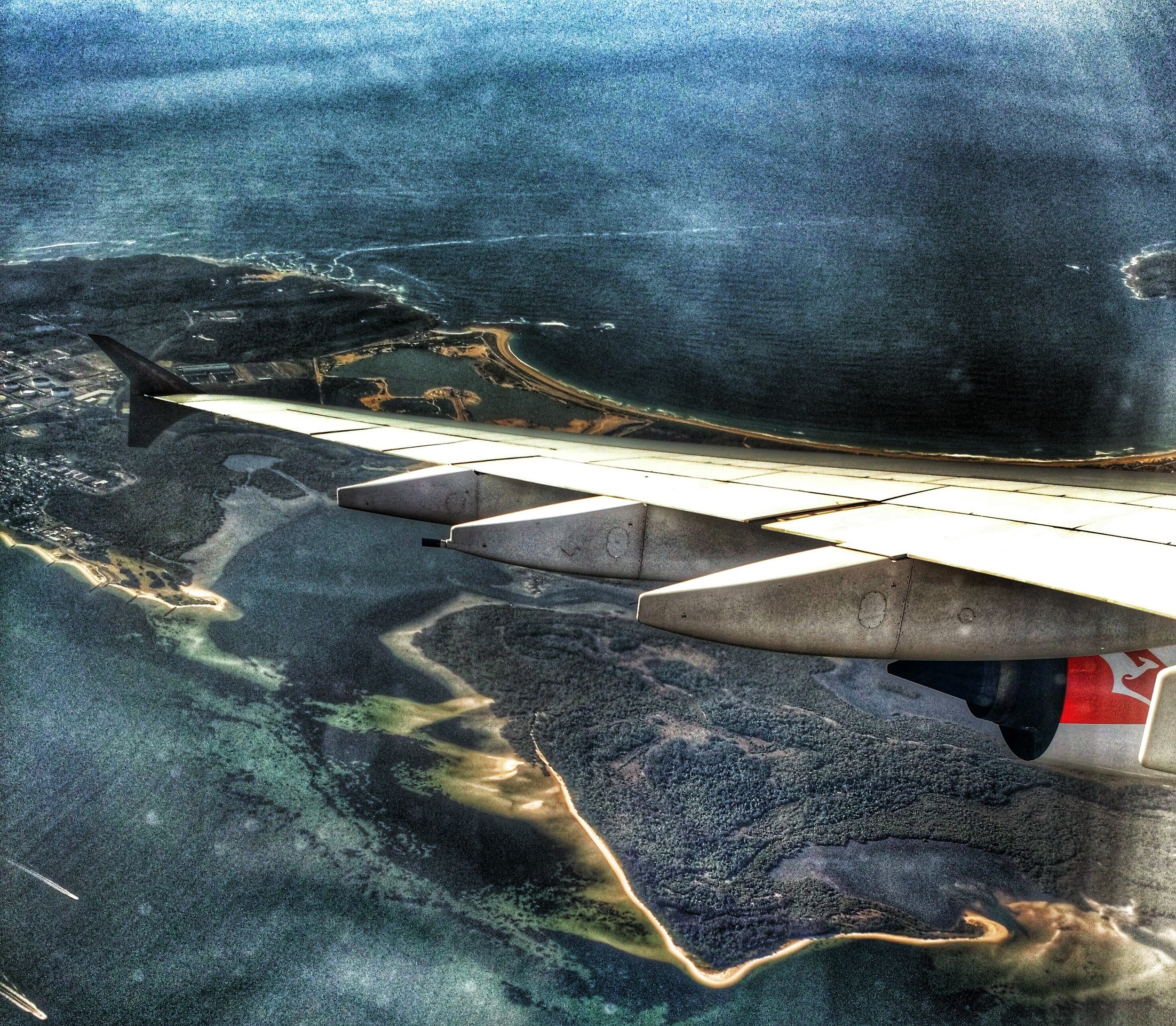 Landing in Sydney
