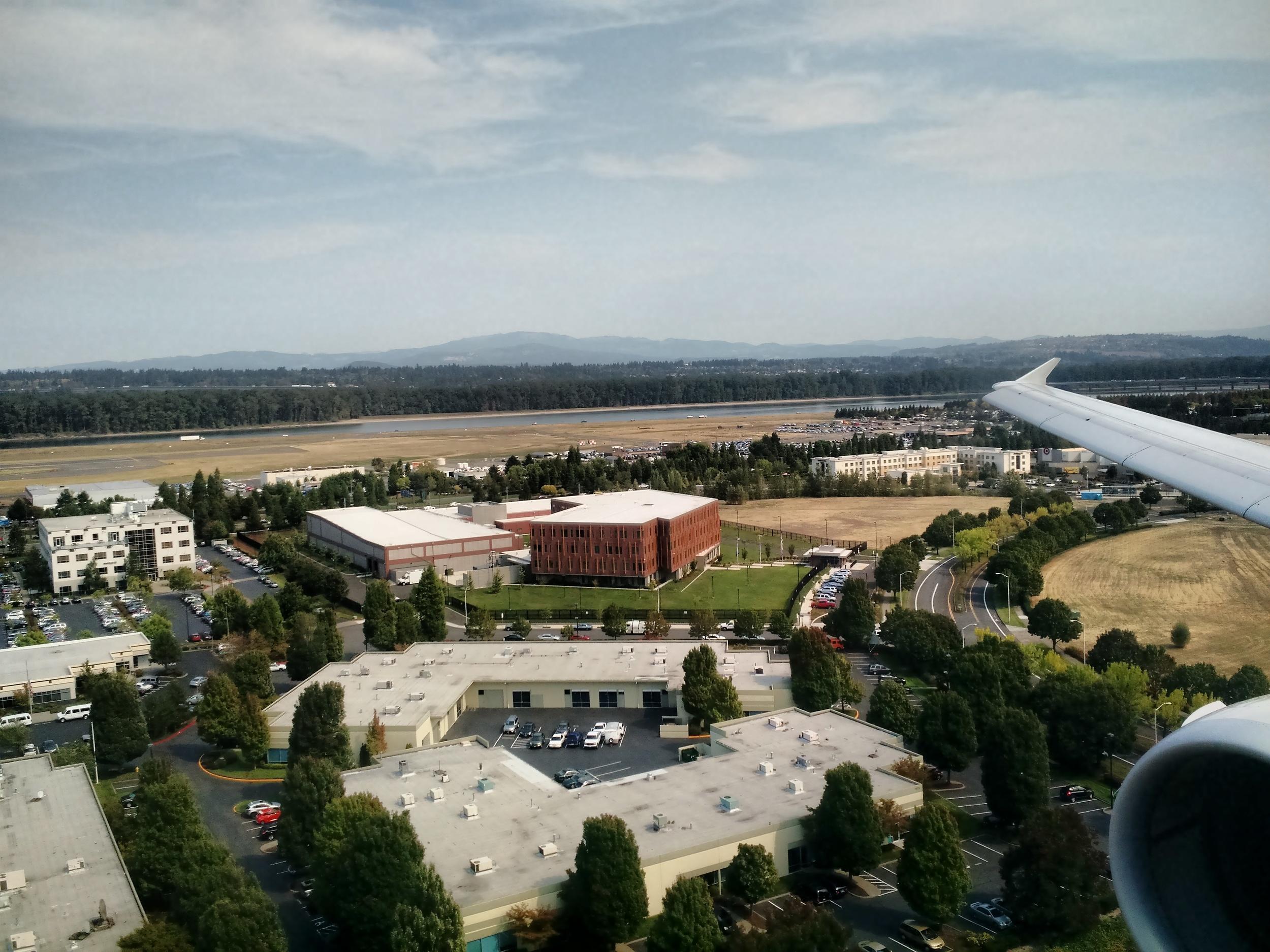 Landing in Portland (PDX)