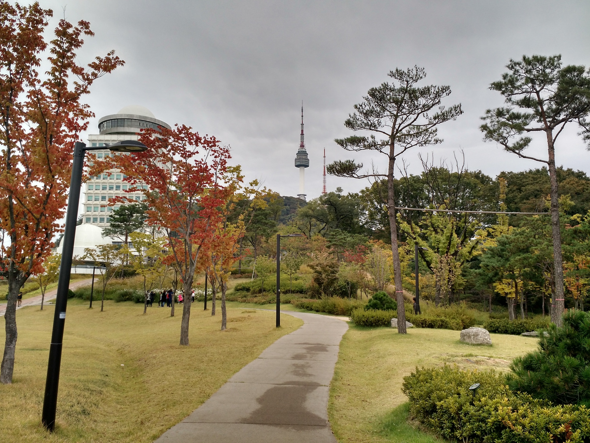 Day 3 started with a trip to North Seoul Tower