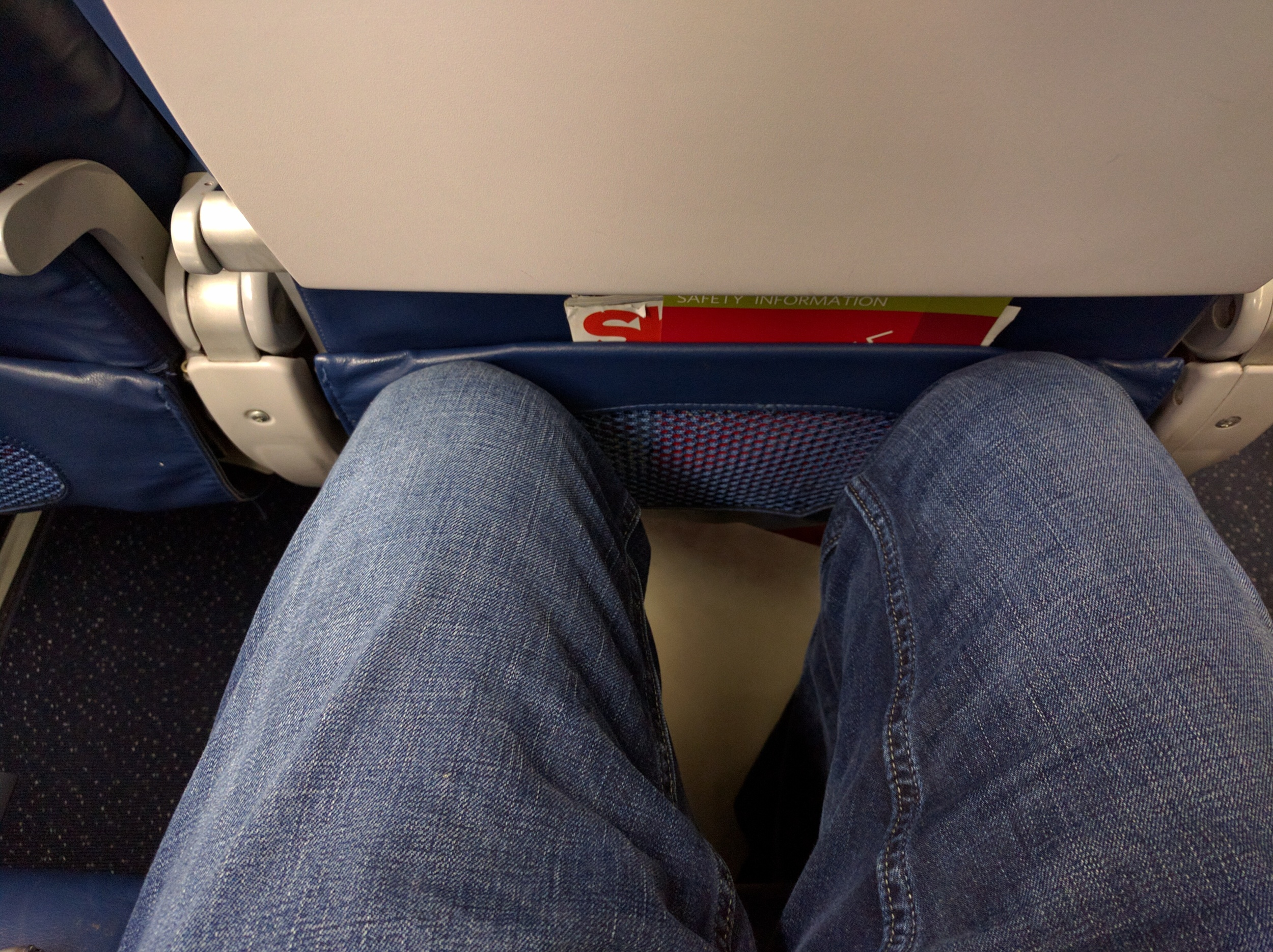 Leg Room on the 767 in Economy - Yes I Am Tall
