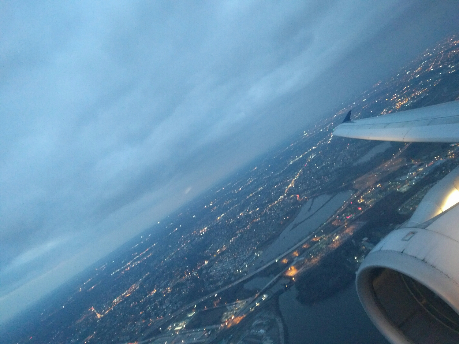 Taking off from PHL