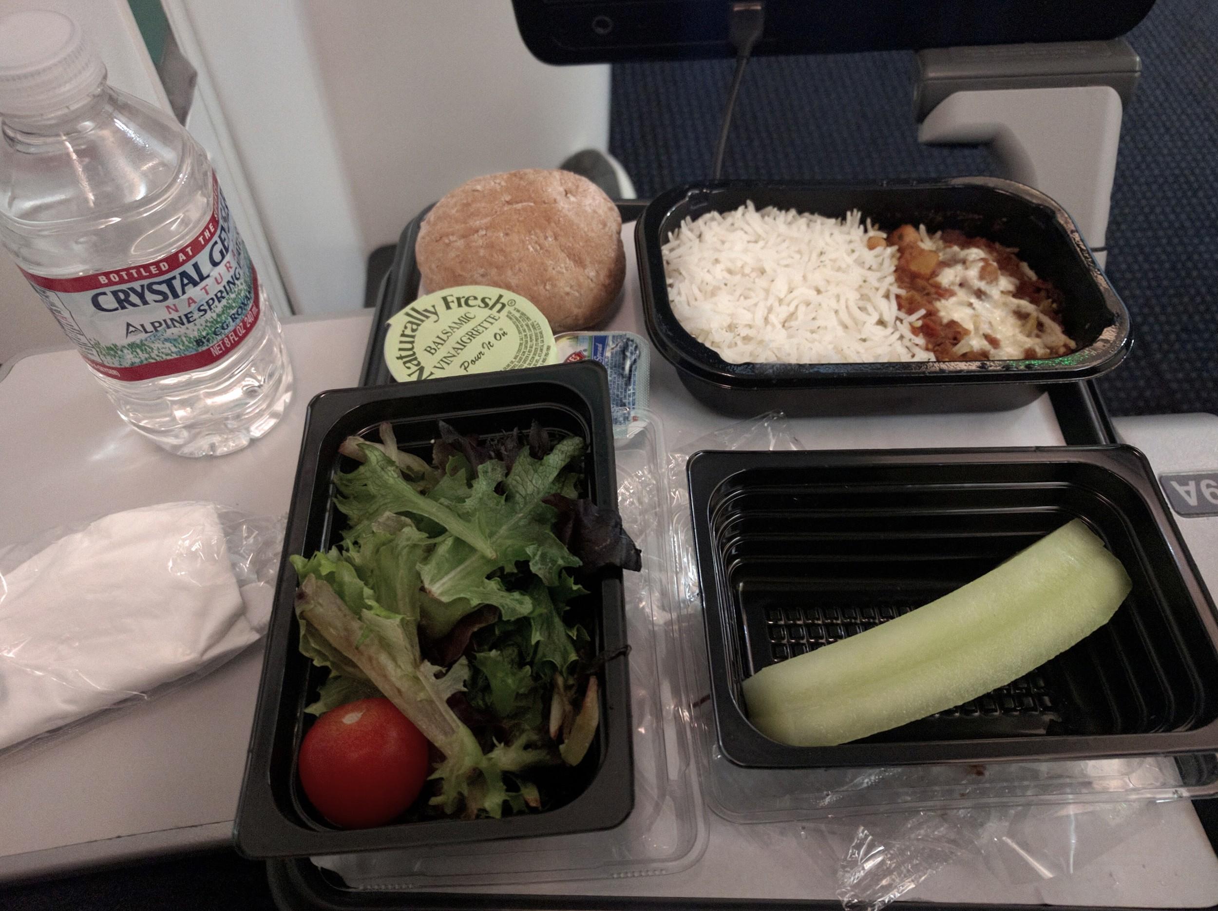 Vegetarian/Vegan Economy Meal