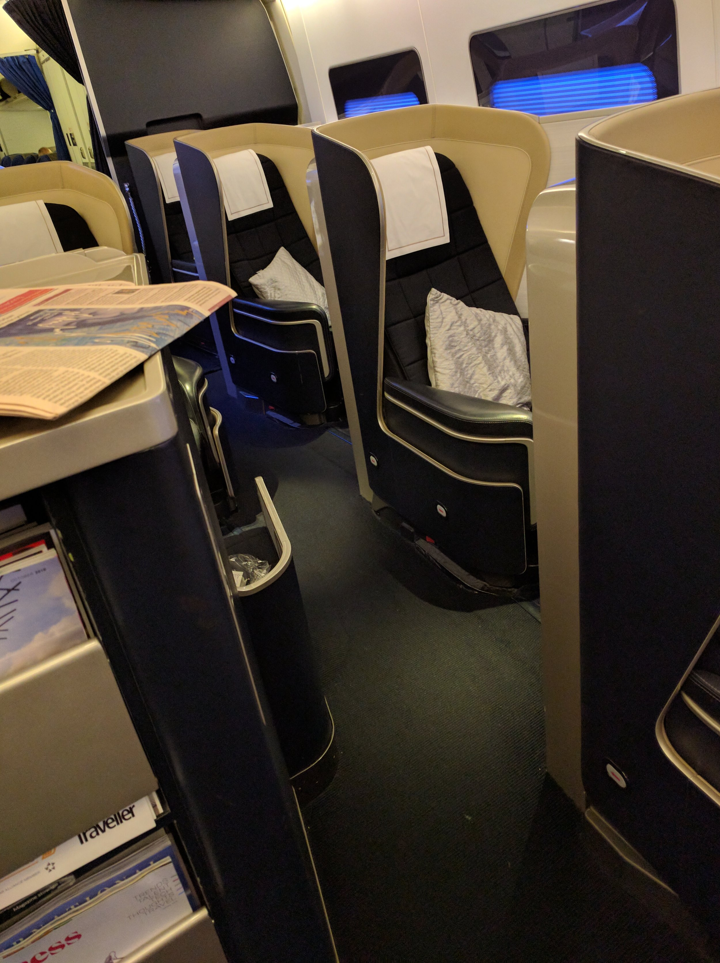 Part of the First Class Cabin
