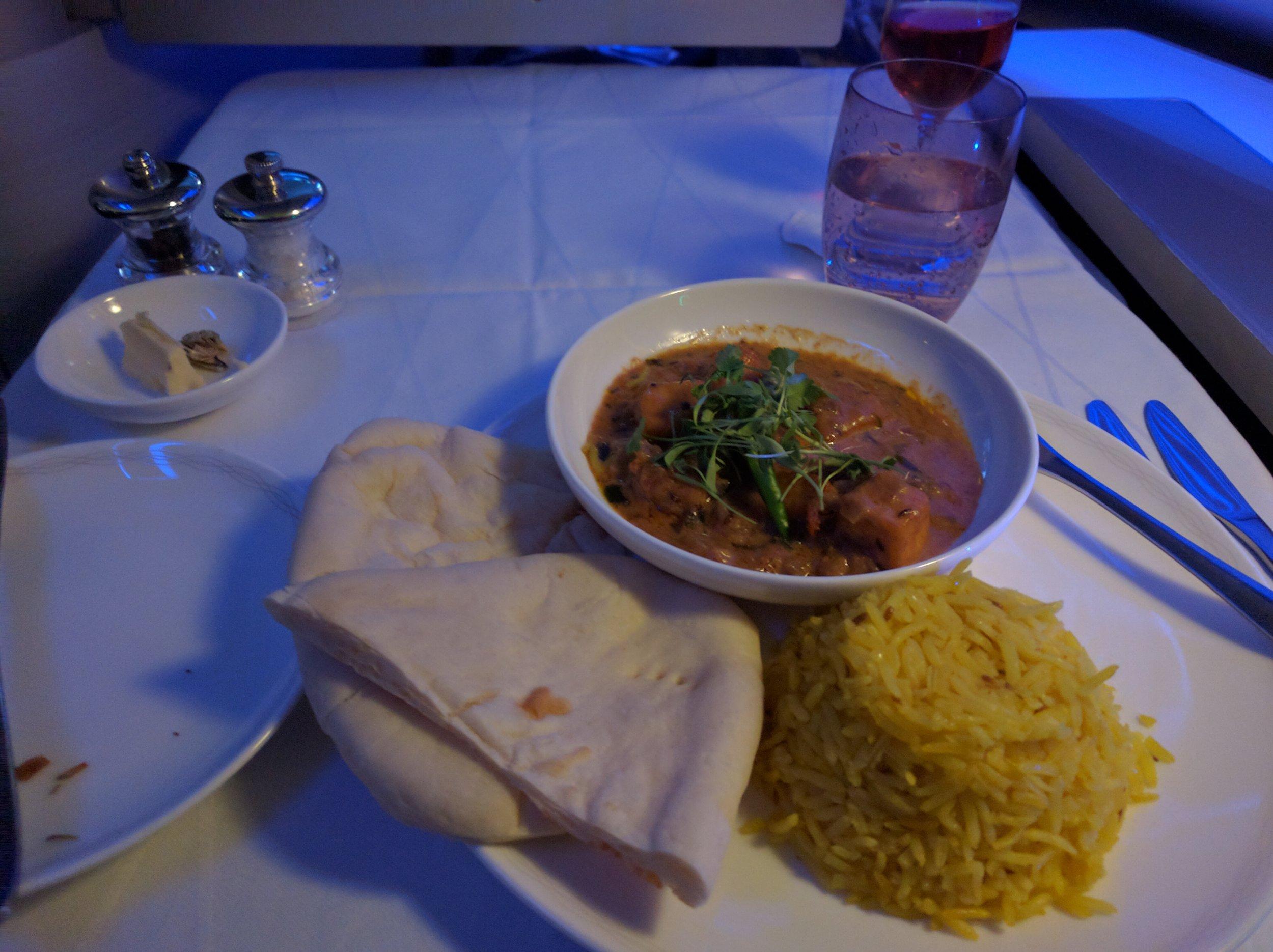 Asian Vegetarian Meal