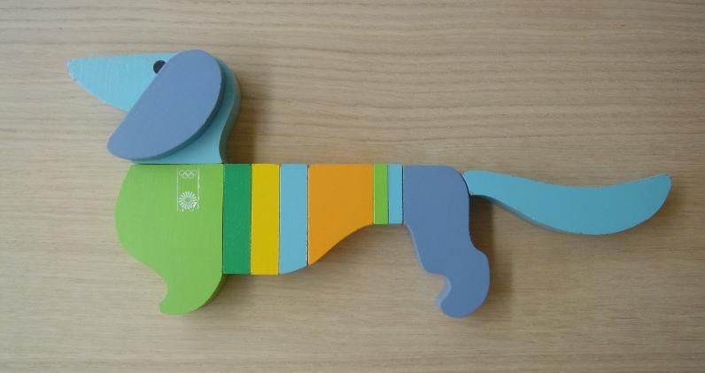 Waldi Wooden Toy. Photoby  alphanumeric.