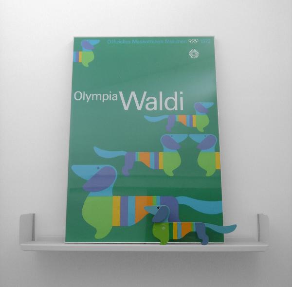 Waldi Poster. Photo by alphanumeric.